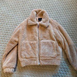 urban outfitters teddy bear jacket